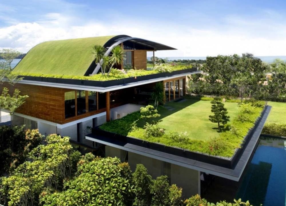 Arquitetura como criar um telhado verde led m veis - Jardin suspendu brussels montpellier ...